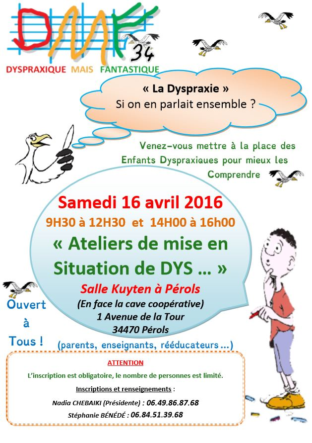 atelier mise en situation Perols 16 04 2016